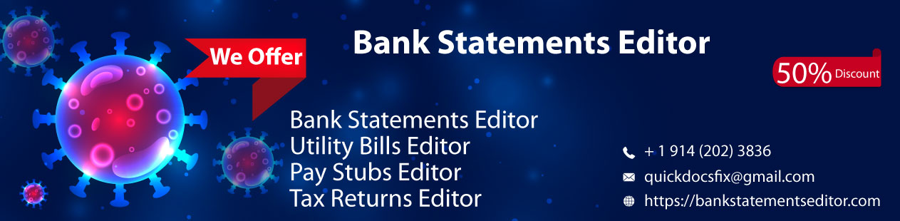 Bank Statements Editor